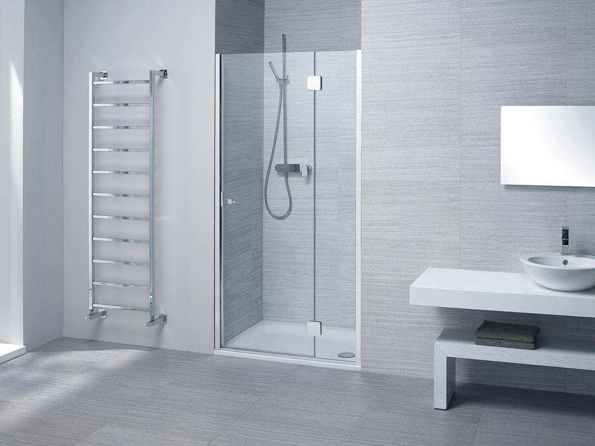 Porta doccia nicchia silis - Cabine doccia su misura ...