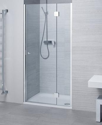 Porta doccia cristallo boiserie in ceramica per bagno - Porta doccia nicchia prezzi ...