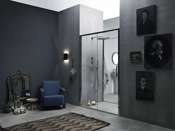 Porta doccia scorrevole in nicchia - Arbatax