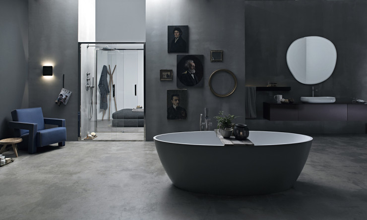 Porta doccia scorrevole in nicchia Arbatax