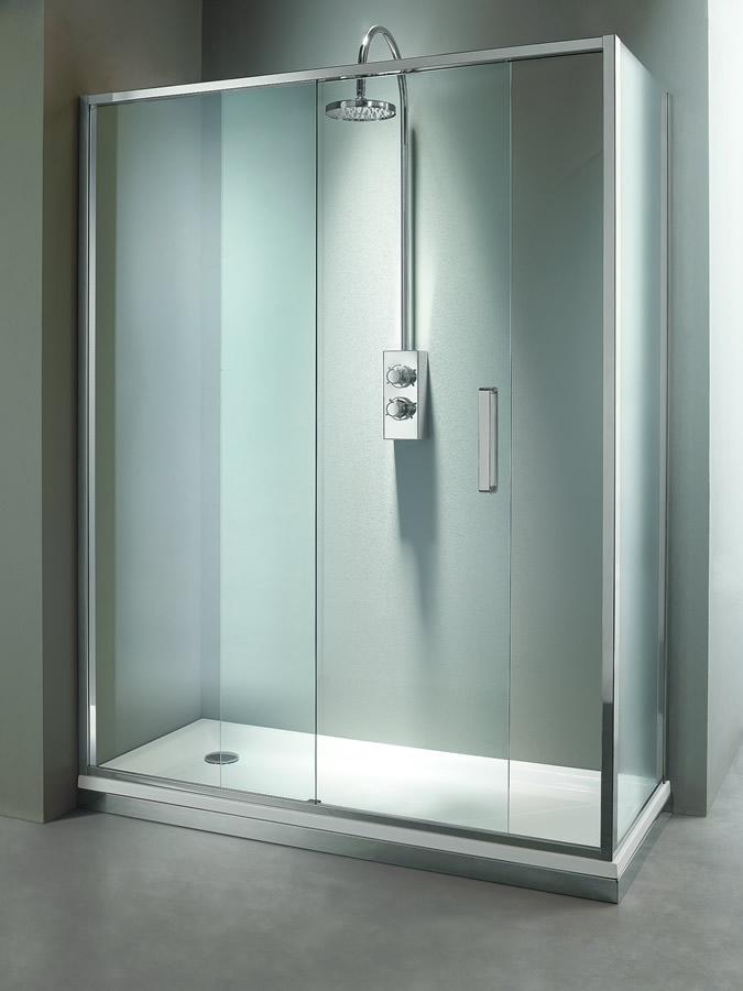 Cabina doccia angolare con anta scorrevole - Arbatax