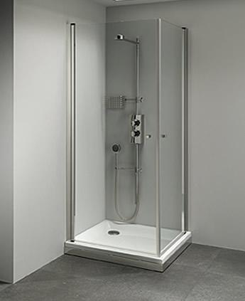 Cabina doccia angolare con 2 ante palau - Foto box doccia ...