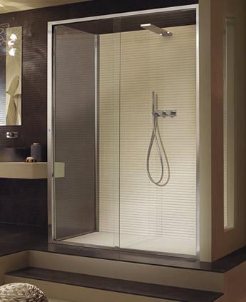 Cabina doccia angolare con anta scorrevole elettronica Arbatax
