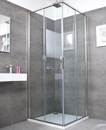 Cabina doccia scorrevole raccordi tubi innocenti - Doccia con tubi esterni ...