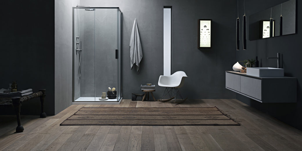 Cabina doccia angolare scorrevole Chia