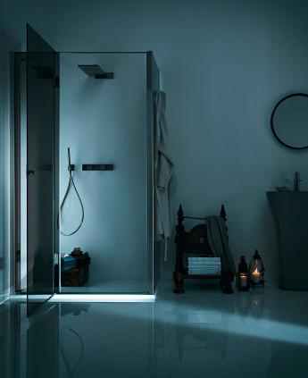 Calibe cabine e box doccia su misura in cristallo e acciaio - Cabine doccia su misura ...