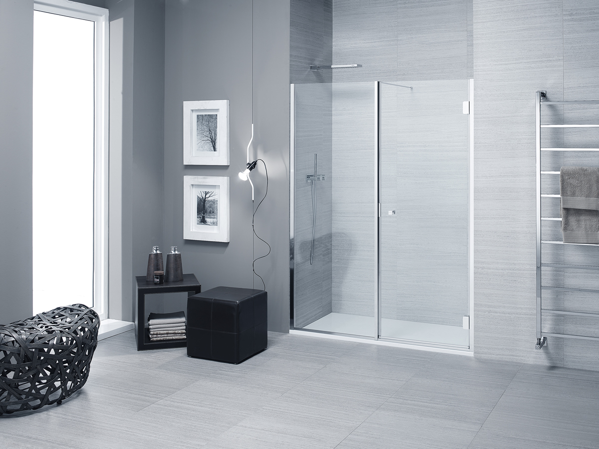 Parete In Vetro Doccia : Parete in vetro per vasca da bagno