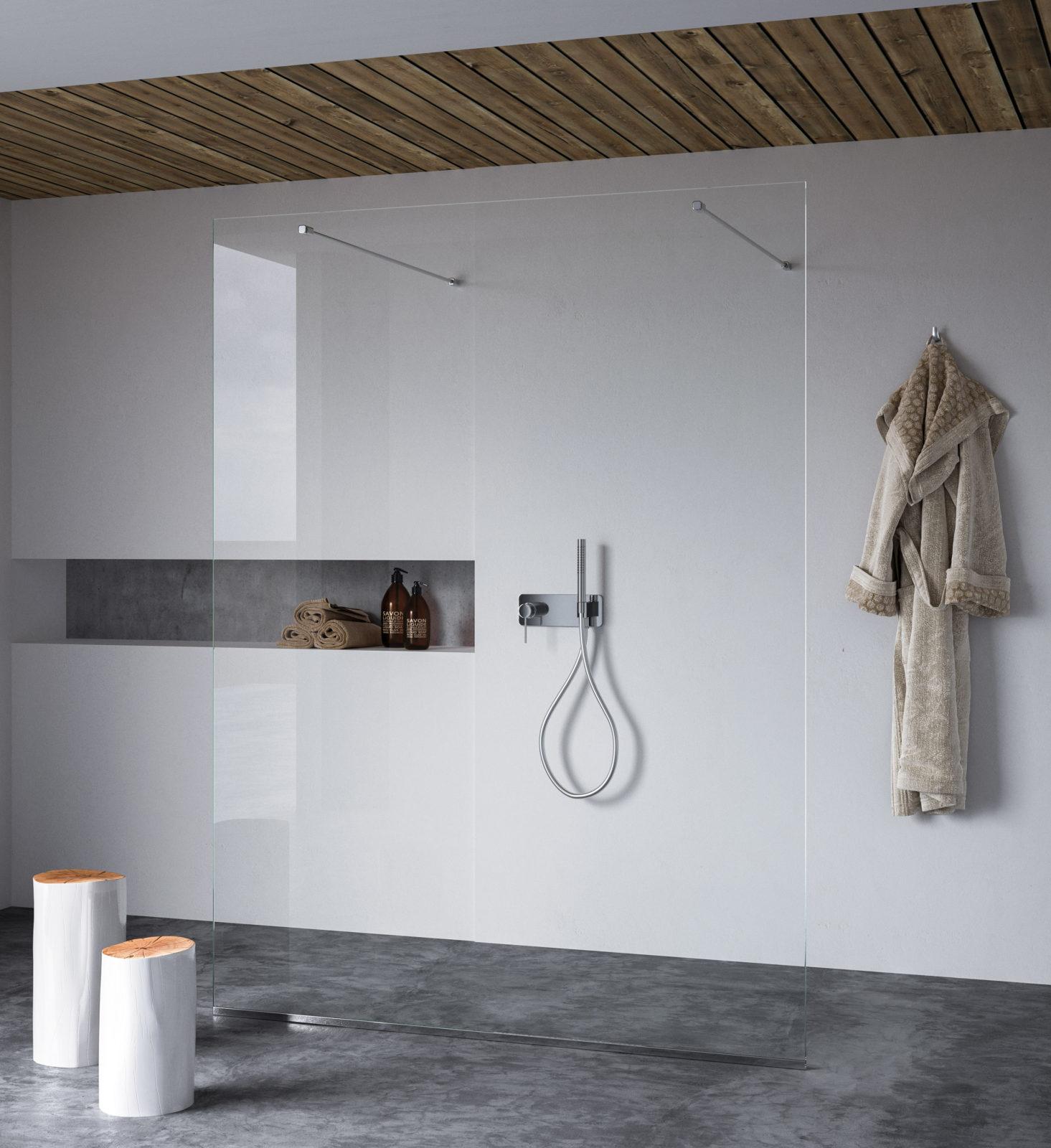cloison centre salle de bains calibe