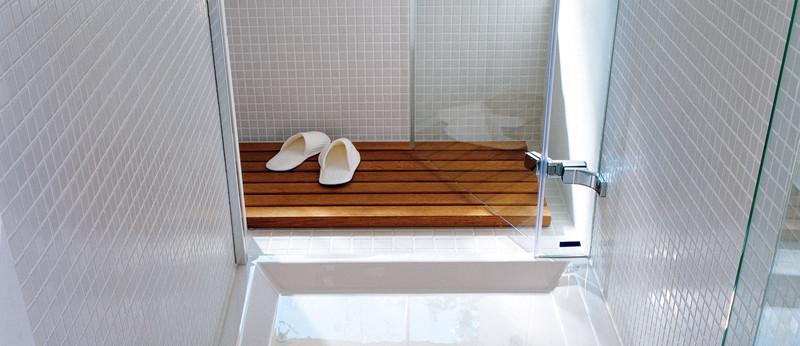 Porta doccia con cristallo temperato