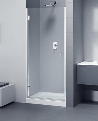 Porta doccia a nicchia in cristallo - Porta doccia nicchia prezzi ...