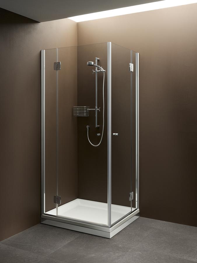 Cabina doccia angolare con 2 ante - Silis