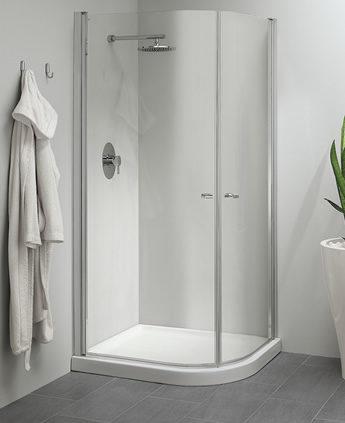 Cabina doccia angolare