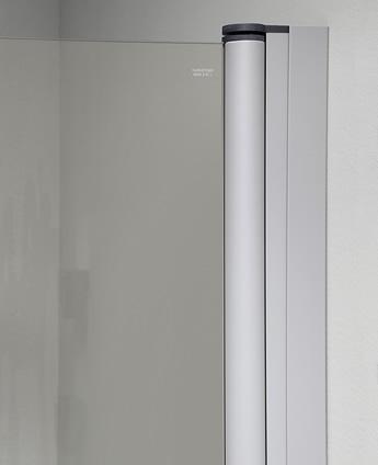 Round Shower Enclosure Inward And Outward Opening Doors Leak Free Calibe