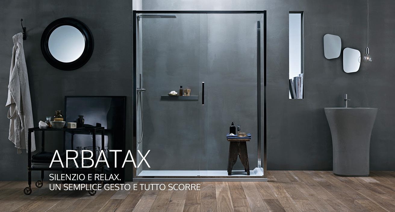 Calibe cabine e box doccia su misura in cristallo e acciaio for Design di cabine di lusso