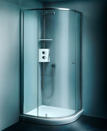 Calibe cabine e box doccia su misura in cristallo e acciaio