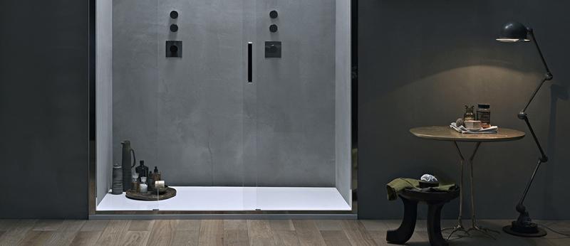 Porta doccia in nicchia scopri tutte le soluzioni - Doccia in nicchia ...
