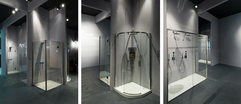 Idee per bagni moderni secondo cersaie 2015 calibe for Design di cabine di lusso