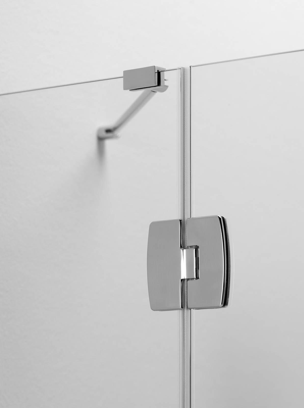 Cabina doccia angolare apertura interno esterno silica - Cabina doccia esterna ...