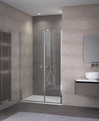 Calibe cabine e box doccia su misura in cristallo e acciaio - Box doccia colorati ...