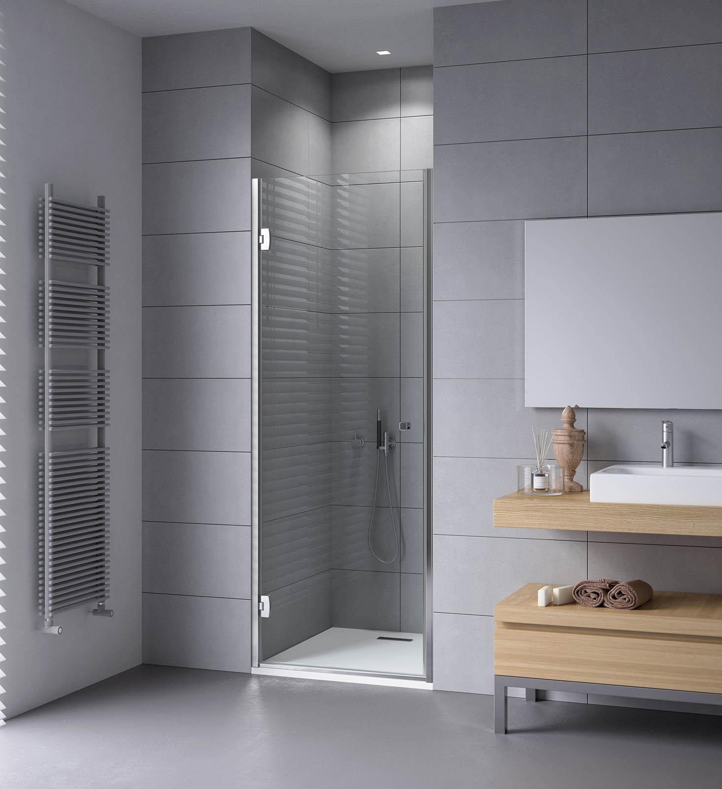 Thiana Recessed Shower Screen With Inwardoutward Opening Door Calibe